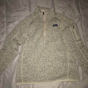 patagonia better sweater (beige)